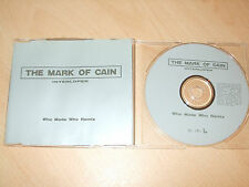 The Mark of Cain - Interloper (Who Made Who Remix)(CD) 5 Tracks - Nr Mint - Rare