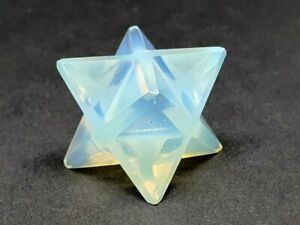 Opalite Merkaba Star Angel Sea Stone Argenon Spiritual Sexual Energy Carved