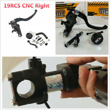 19 RCS Brake Master Cylinder Cable Clutch Radial Brake Pump For 22mm Motorcycle