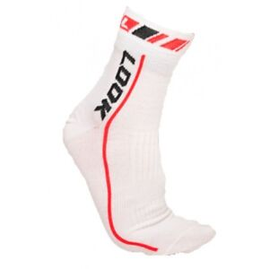 Look Thermo Bicycle Cycling Socks Black/White S/M(37-41 )- L/XL(42/46 )
