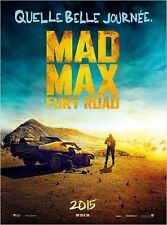 Pré Affiche Pliée 40X60cm MAD MAX: FURY ROAD 2015 George Miller, Tom Hardy - TB