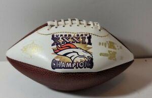 Denver Broncos Super Bowl XXXII Champions Mini Football NFL