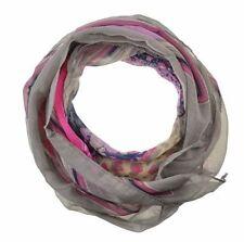 Écharpes et châles foulards gris à motif Floral pour femme