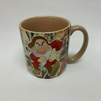 Disney Store Mug Cup Exclusive Snow White and The Seven Dwarfs Large Oversize