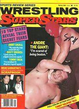 EB1347   Masked Superstar signed Vintage Wrestling Magazine w/COA  HISTORY