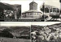 Meuselbach Schwarzmühle Thüringen DDR Mehrbild-AK Postkarte gelaufen frankiert