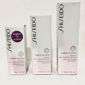 Shiseido White Lucent Intensive Spot Targeting Serum + CHOOSE SIZE New in Box!