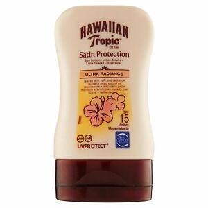 Hawaiian Tropic Satin Protection Sun Lotion Ultra Radiance SPF 15