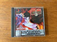 Tekken 3 Platinum PS1 PAL FR