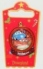 Disney Pin: DLR - Holiday Snowglobe - Lightning McQueen and Sally