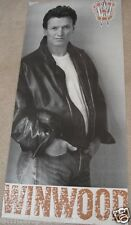 """Steve Winwood """"Roll With It"""" Giant U.S. Promo Poster - Traffic, Blind Faith"""