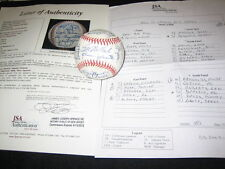 HOFs & STARS (25) SIGNED AUTOGRAPHED OAL BASEBALL GIBSON, CEPEDA, BARLICK, + JSA