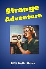 Strange Adventure 36 (OTR) Old Time Radio Shows MP3 on a single CD