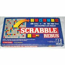 Jeu de société Scrabble Rebus - Decouvrez les rébus - Habourdin - 1984