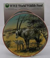 Villeroy & et boch wwf fonds mondial pour la nature No8 oryx blanc mi-east new boxed