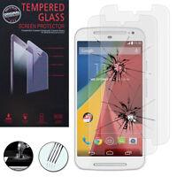 2 Films Verre Trempe Protecteur Protection Motorola Moto G2 Dual SIM
