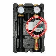 Environ Pumpengruppe DN25 ohne Pumpe mit Wärmedämmung Kesselanbindesystem
