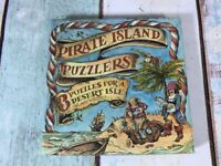 Pirate Island Puzzlers  3 Puzzles for a Desert Isle. Tricky Brainteaser Fun Game