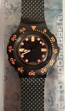 Swatch Scuba 200 SDB100 Barrier Reef - MIB - 1990 - Launch Collection