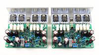 L20 Audio power amplifier 2pcs 350W+350W AMP assembled BOARD 2channel+ HEAT SINK