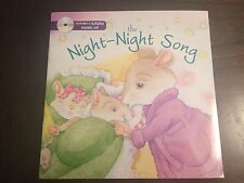 Night Night Song book with music CD New