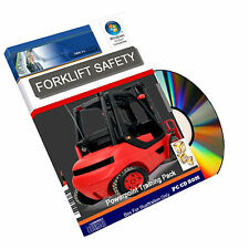 Forklift Lift Truck Pallet Operator Health Safety Powerpoint Training Course CD
