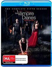 The Vampire Diaries Season Series 5 blu ray RB New Sealed
