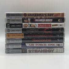 Psp umd movies lot Of 8! 4 Still sealed!