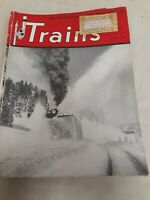 "Vintage ""Trains"" The Magazine of Railroading, 1950- Lot of 11 Issues"