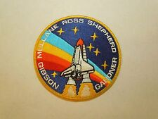 NASA Space Shuttle Astronauts Ross Gibson STS-27 Rainb Embroidered Iron On Patch