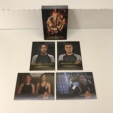 THE HUNGER GAMES CATCHING FIRE (Neca/2013) Complete Trading Card Set ALL 40!