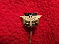 Antique Vintage Pin Airplane Red LETOV 1918 - 1973 Airline aircraft Aviation