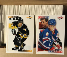 1995-96 Score Hockey Card Complete Base Set (1-330)