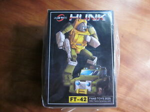 FT-42 Hunk Brawn MISB Fans Toys Fanstoys MP Masterpiece Transformers
