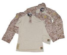 US Marine Corps USMC FR FROG Desert MARPAT Combat Shirt - MED LONG - LOT OF 2
