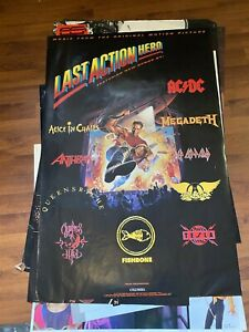 Last Action Hero 24by36 Original Music Store Poster Music