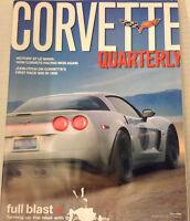Corvette Quarterly Magazine John Fitch Fall 2006 080917nonrh