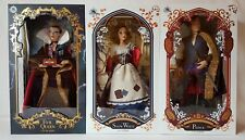 Disney Art Of Snow White Set Of 3 Limited Edition Dolls Evil Queen Prince New