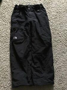 Men's The North Face Winter/Showboating Pants Size L Inseam 31 Black Nylon