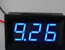 Us Stock Mini Blue Led Digital Panel Amp Meter Gauge 50a Dc Amp Shunt