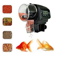 Auto Automatic Fish Feeder Aquarium Tank Food Timer Feeding w/ LCD Display