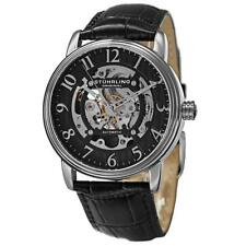 Stuhrling 970 Men's Legacy Analog Display Automatic Self Wind Black Watch