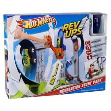 Hot Wheels Rev Ups Revolution Stunt Park NIB GR8 DEAL FOR B-DAY/EASTER GIFT
