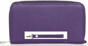 Thirty One all about the Benjamins Wallet Posh Purple STRAP 31 NEW RARE AATB