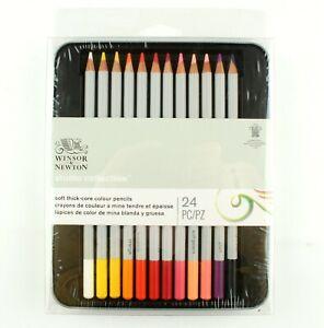 *Winsor & Newton Studio Collection 24pc Soft Thick Core Color Pencils
