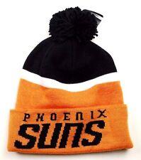 Phoenix Suns KT17Z NBA Team Logo Knit Pom Pom Basketball Hat Beanie