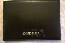 Credit Card Holder,DIESEL,Black,Genuine Leather