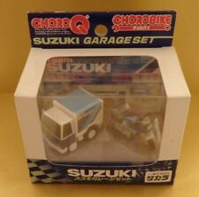 JAPAN TAKARA TOMY Choro Q team SUZUKI Garage SET (chorobike) free shipping