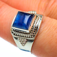 Kyanite 925 Sterling Silver Ring Size 8.25 Ana Co Jewelry R40212F