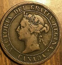 1901 CANADA LARGE 1 CENT PENNY